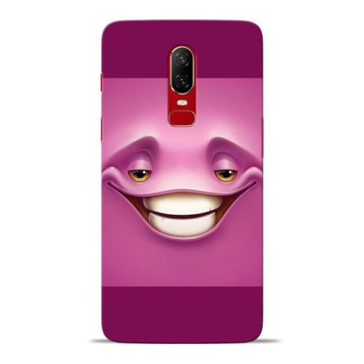 Smiley Danger Oneplus 6 Mobile Cover