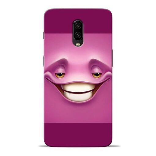 Smiley Danger Oneplus 6T Mobile Cover