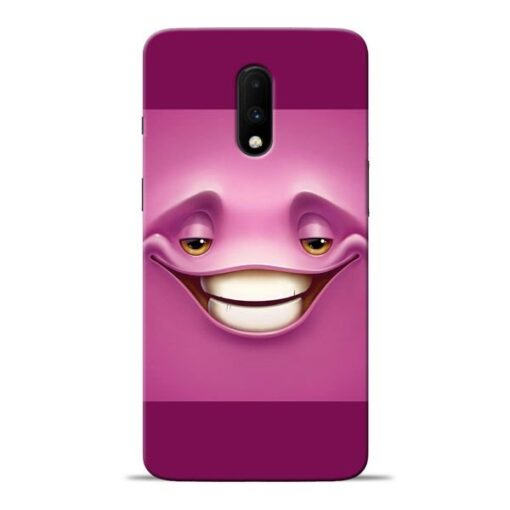 Smiley Danger Oneplus 7 Mobile Cover