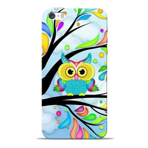 Spring Owl Apple iPhone 5s Mobile Cover