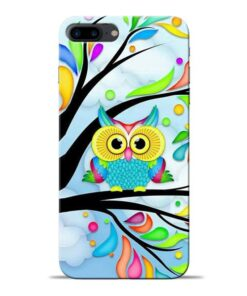 Spring Owl Apple iPhone 7 Plus Mobile Cover