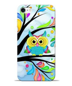 Spring Owl Apple iPhone 8 Mobile Cover