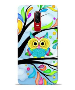 Spring Owl Oneplus 6 Mobile Cover