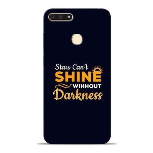 Stars Shine Honor 7A Mobile Cover