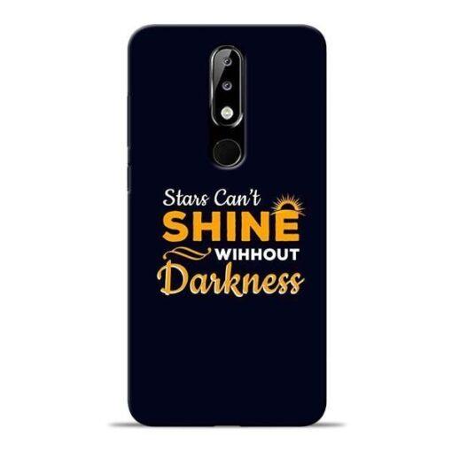 Stars Shine Nokia 5.1 Plus Mobile Cover