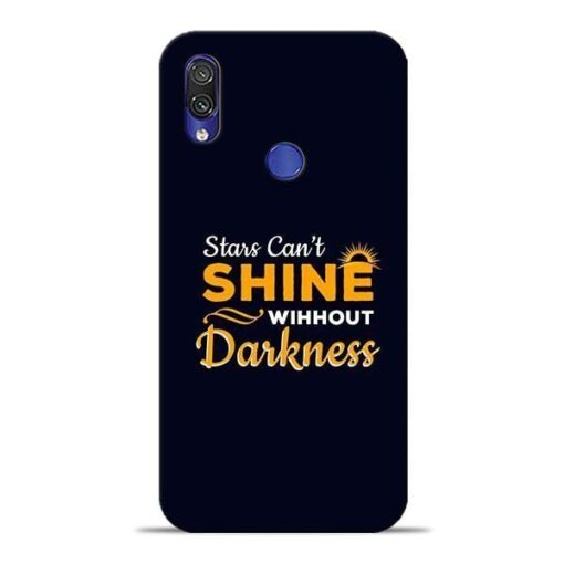 Stars Shine Xiaomi Redmi Note 7 Pro Mobile Cover