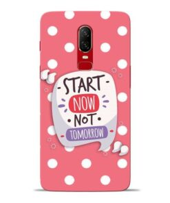 Start Now Oneplus 6 Mobile Cover