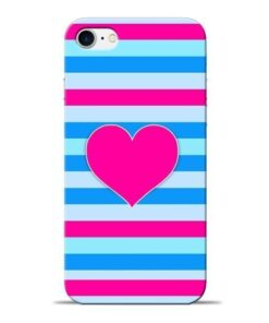 Stripes Line Apple iPhone 8 Mobile Cover