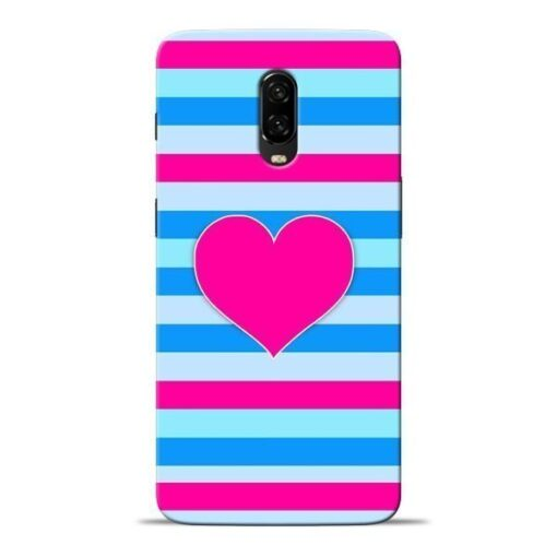 Stripes Line Oneplus 6T Mobile Cover