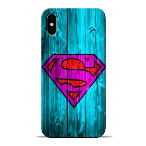 SuperMan Apple iPhone X Mobile Cover