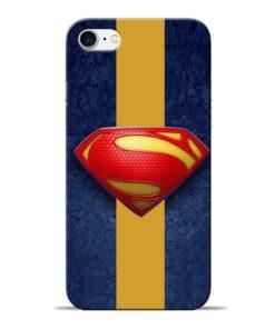 SuperMan Design Apple iPhone 8 Mobile Cover