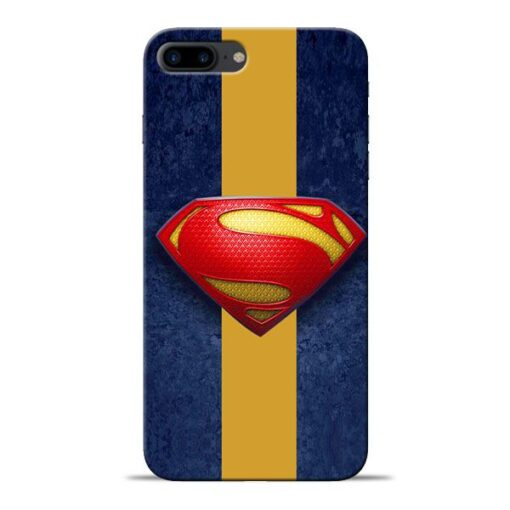SuperMan Design Apple iPhone 8 Plus Mobile Cover