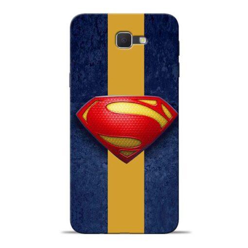 SuperMan Design Samsung J7 Prime Mobile Cover