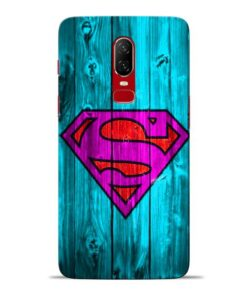 SuperMan Oneplus 6 Mobile Cover