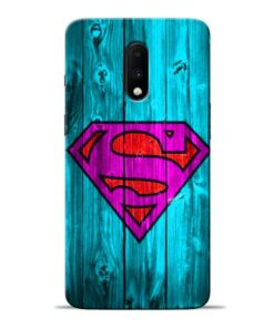 SuperMan Oneplus 7 Mobile Cover