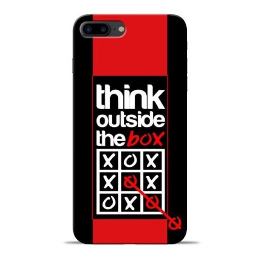 Think Outside Apple iPhone 7 Plus Mobile Cover