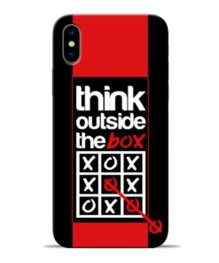 Think Outside Apple iPhone X Mobile Cover