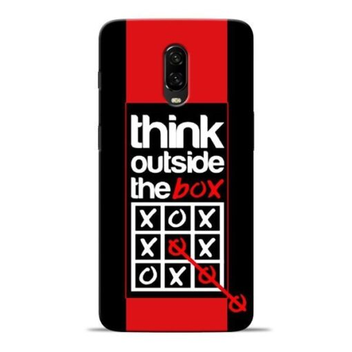 Think Outside Oneplus 6T Mobile Cover