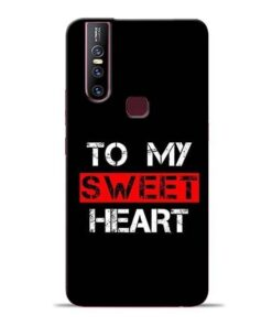To My Sweet Heart Vivo V15 Mobile Cover