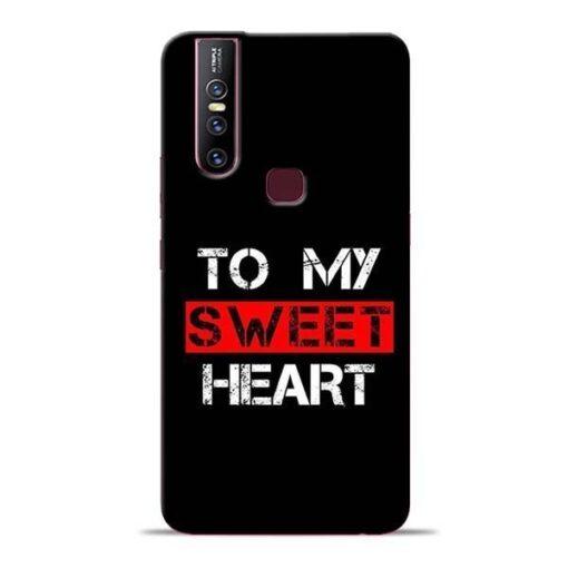 To My Sweet Heart Vivo V15 Mobile Cover