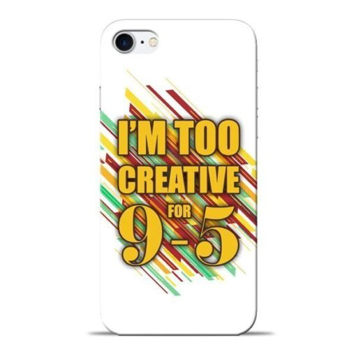 Too Creative Apple iPhone 8 Mobile Cover