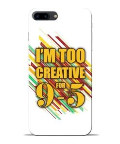 Too Creative Apple iPhone 8 Plus Mobile Cover