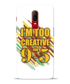 Too Creative Oneplus 6 Mobile Cover