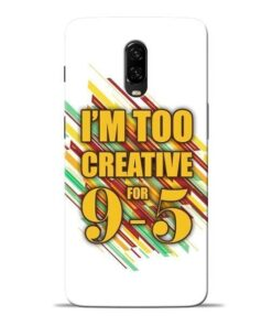Too Creative Oneplus 6T Mobile Cover