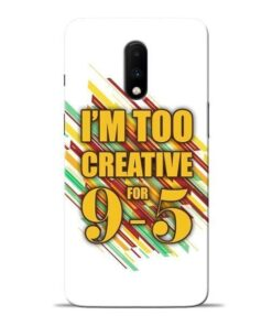 Too Creative Oneplus 7 Mobile Cover
