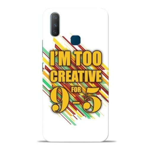 Too Creative Vivo Y17 Mobile Cover