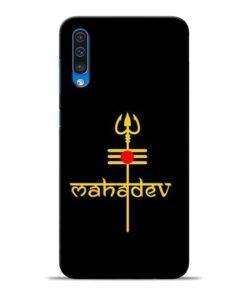 Trishul Om Samsung A50 Mobile Cover