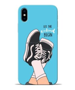 Weekend Apple iPhone X Mobile Cover