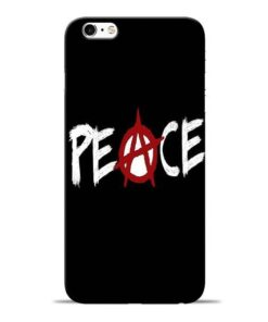White Peace Apple iPhone 6 Mobile Cover