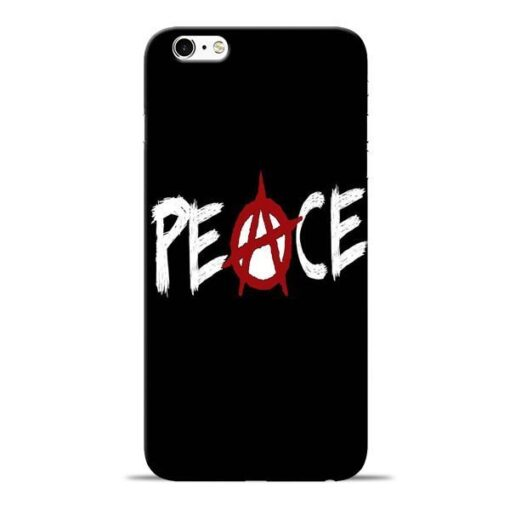 White Peace Apple iPhone 6s Mobile Cover