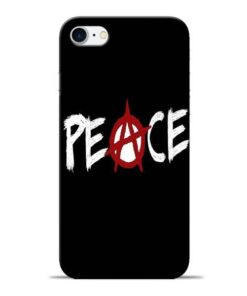 White Peace Apple iPhone 8 Mobile Cover