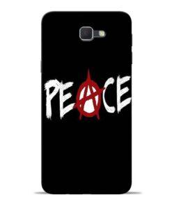 White Peace Samsung J7 Prime Mobile Cover