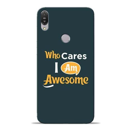 Who Cares Asus Zenfone Max Pro M1 Mobile Cover