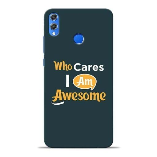 Who Cares Honor 8X Mobile Cover