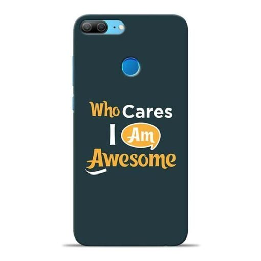 Who Cares Honor 9 Lite Mobile Cover