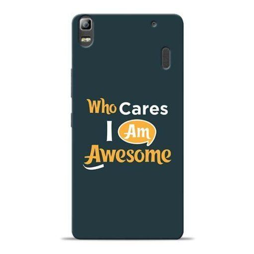 Who Cares Lenovo K3 Note Mobile Cover