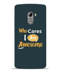Who Cares Lenovo K4 Note Mobile Cover