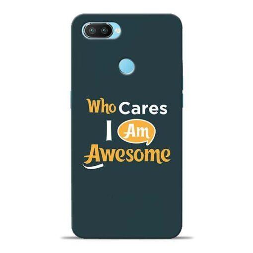 Who Cares Oppo Realme 2 Pro Mobile Cover
