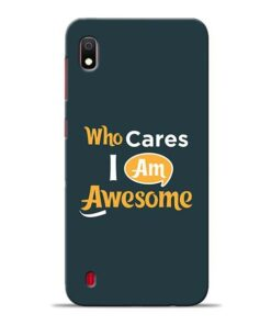 Who Cares Samsung A10 Mobile Cover