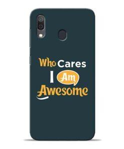 Who Cares Samsung A30 Mobile Cover
