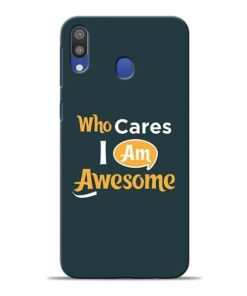 Who Cares Samsung M20 Mobile Cover