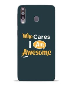 Who Cares Samsung M30 Mobile Cover