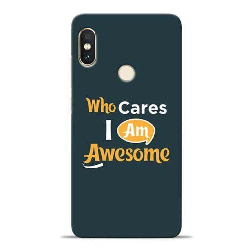 Who Cares Xiaomi Redmi Note 5 Pro Mobile Cover