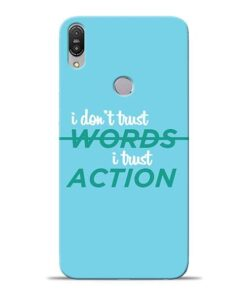 Words Action Asus Zenfone Max Pro M1 Mobile Cover