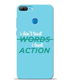 Words Action Honor 9 Lite Mobile Cover