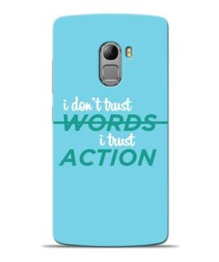 Words Action Lenovo K4 Note Mobile Cover